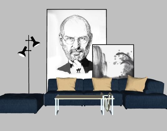 现代北欧-沙发组合