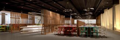 高见设计川行时尚主题火锅餐厅,舌尖上的川味