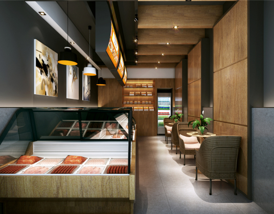 现代肉食店