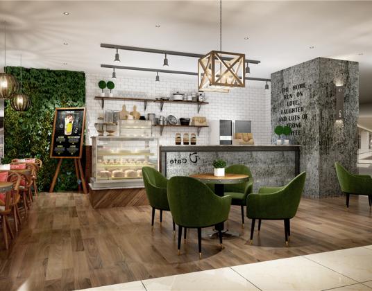 现代面包房