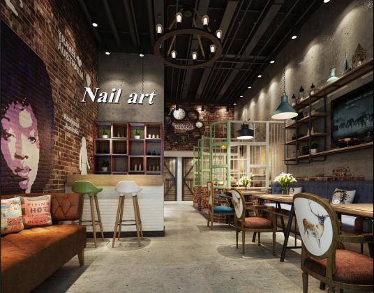 工业风咖啡馆