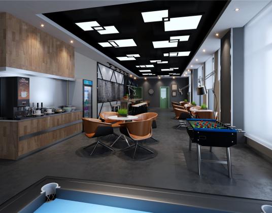 现代咖啡馆
