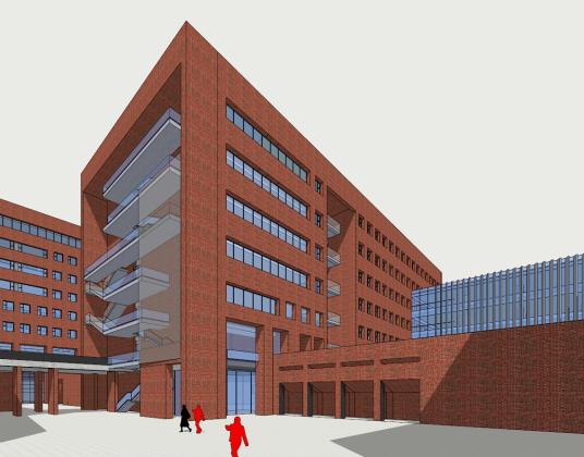 某大學新校區圖書館