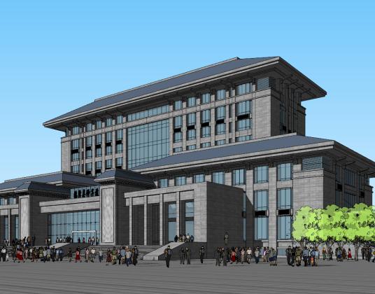 临泽种子中心办公楼