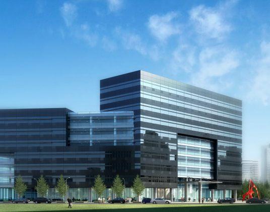 华中科技园主办公楼