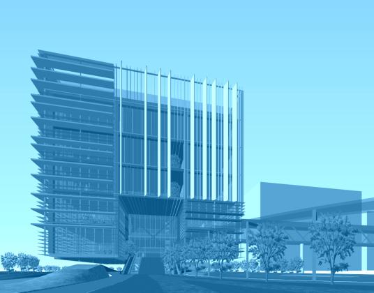 超现代办公楼