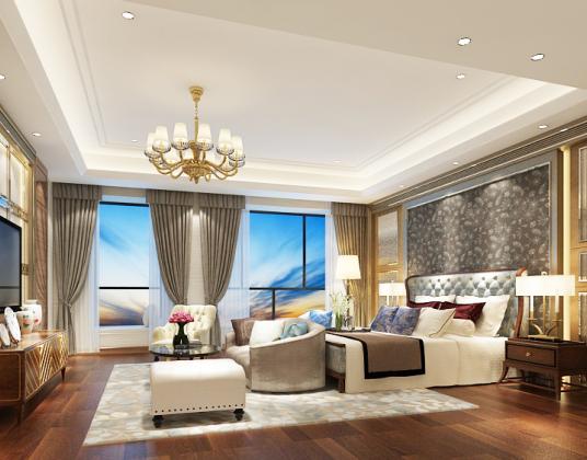 现代风格酒店客房