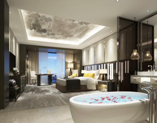 中式酒店客房
