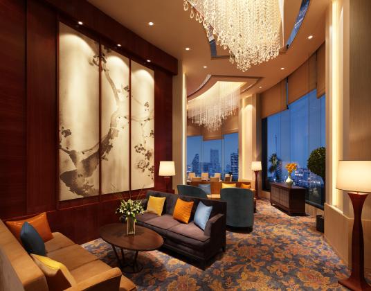 中式酒店会客厅