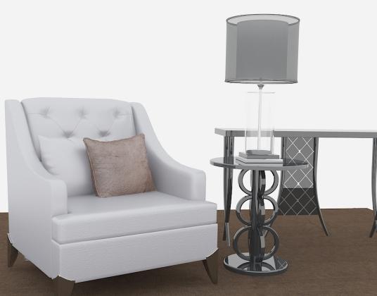 现代新古典沙发
