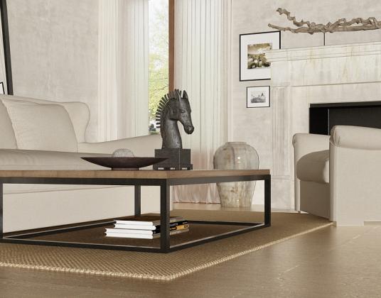 美式现代客厅沙发组合模型