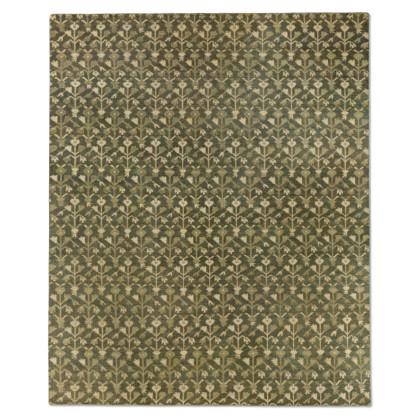 古典花纹地毯