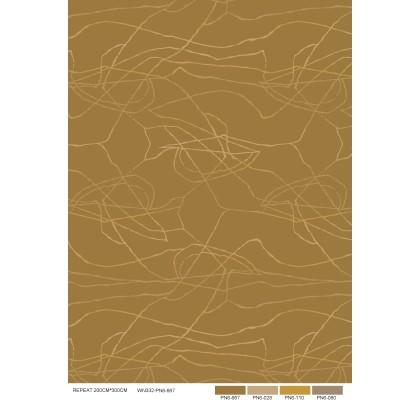 现代抽象几何图案地毯