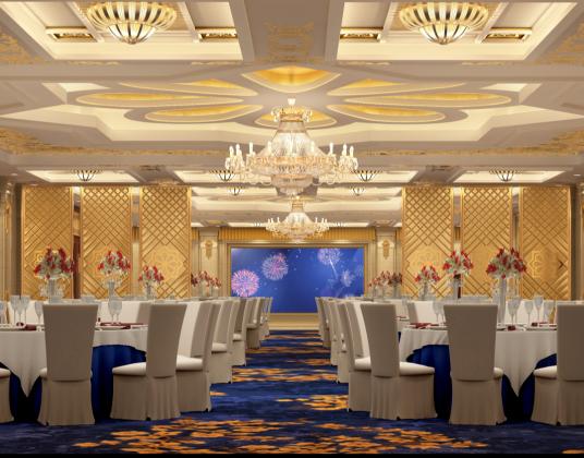 欧式新古典宴会厅会议室
