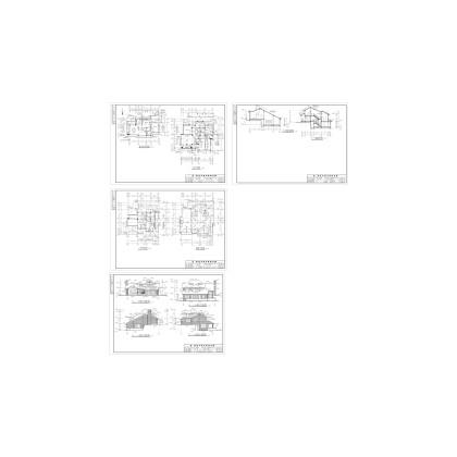 别墅建筑方案图
