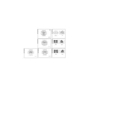 雙聯別墅建筑設計詳圖
