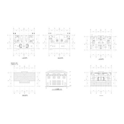 小别墅方案图