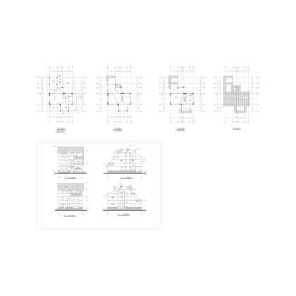 某別墅建筑圖