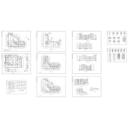 某疗养院全套建筑图