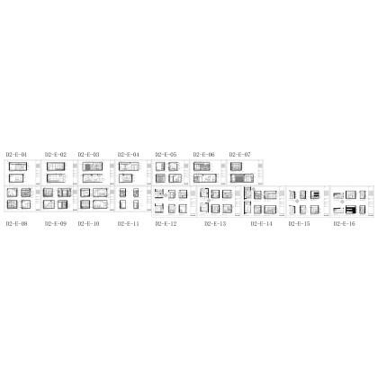 梁志天——華潤新鴻基杭州錢江新城 4号楼D2类型