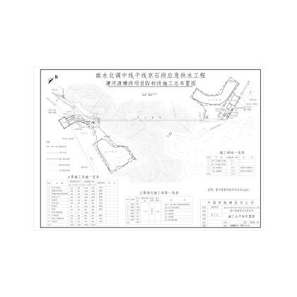 南水北调中线京石段应急供水工程漕河渡槽项目Ⅳ标段投标文件