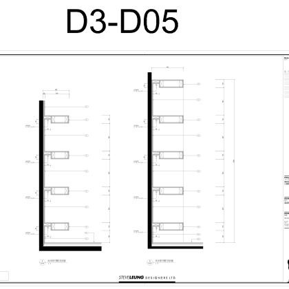 梁志天——南京星雨花都D3户型施工图及物料表