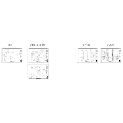 梁志天——南京金基蓝钻C单位施工图