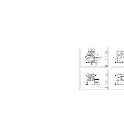 梁志天——广州富力地产标准化样板房项目A戶型樣板房