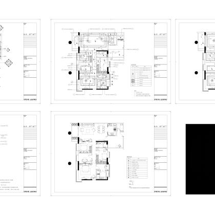 梁志天——广州富力地产标准化样板房项目B戶型樣板房