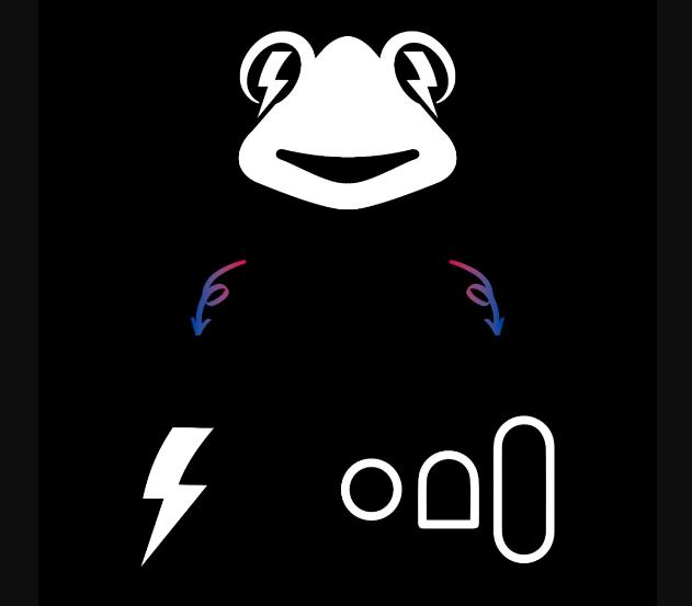 深圳蛙来哒:红与蓝的碰撞,让蛙来哒秒变情绪空间