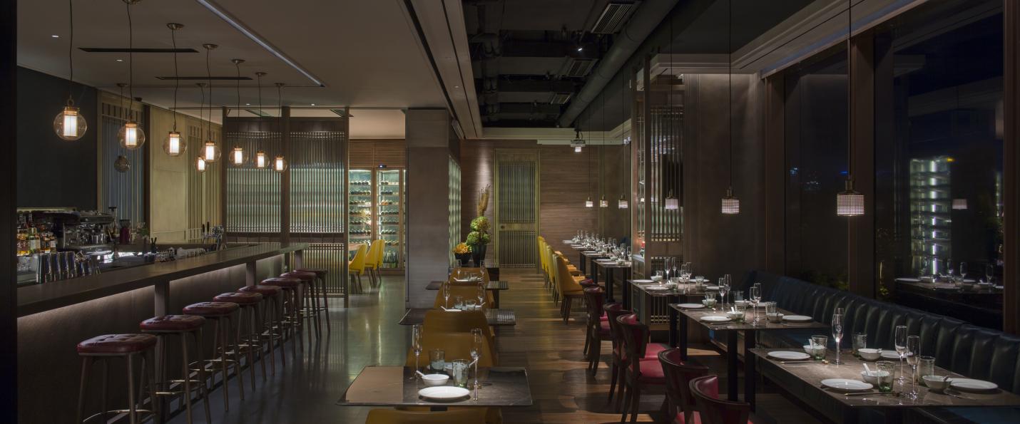 大相设计 |对话传统与当代,新荣记上海BFC外滩店