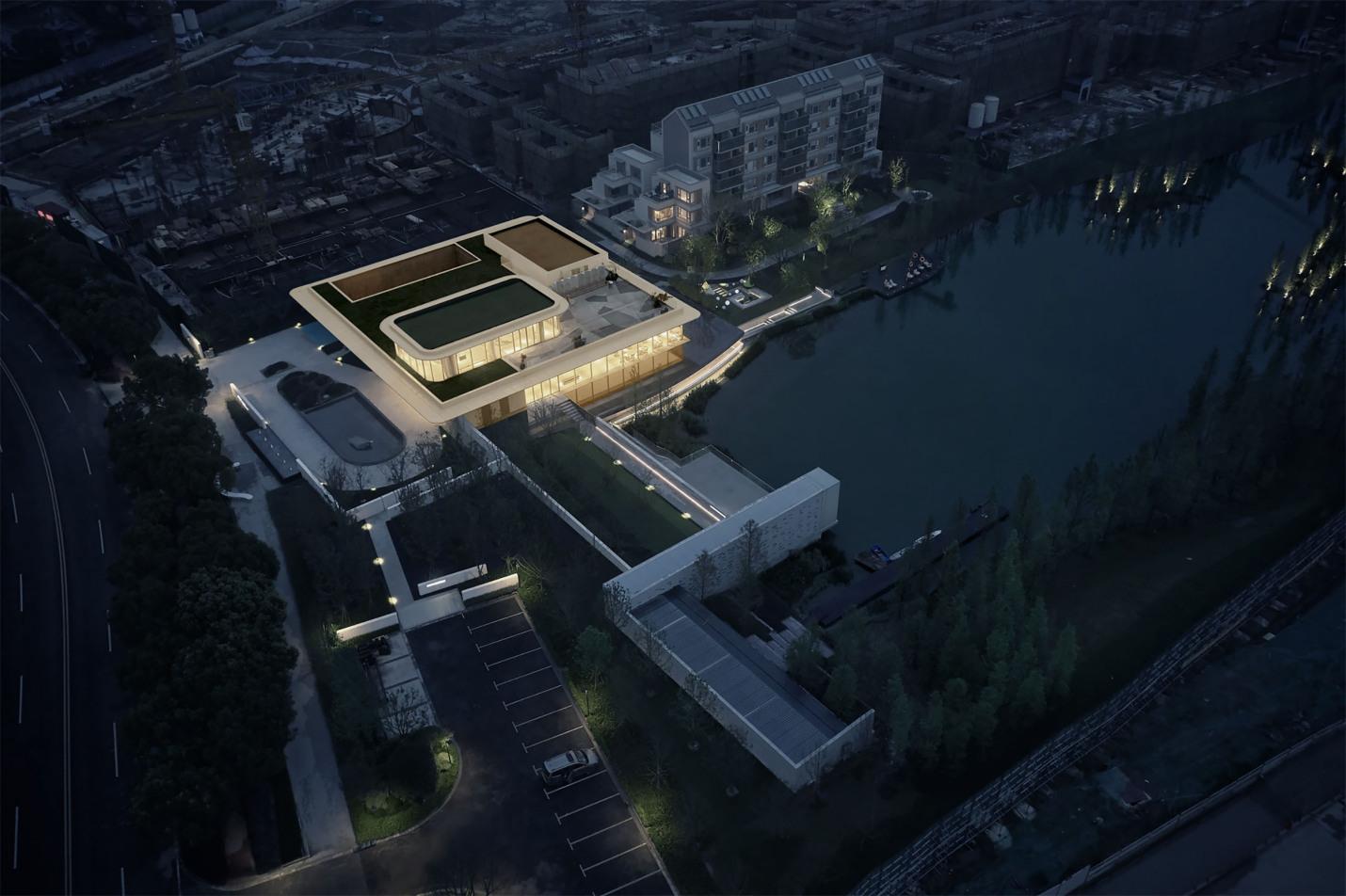 上海超高颜值社区,11万方湖域艺术生活