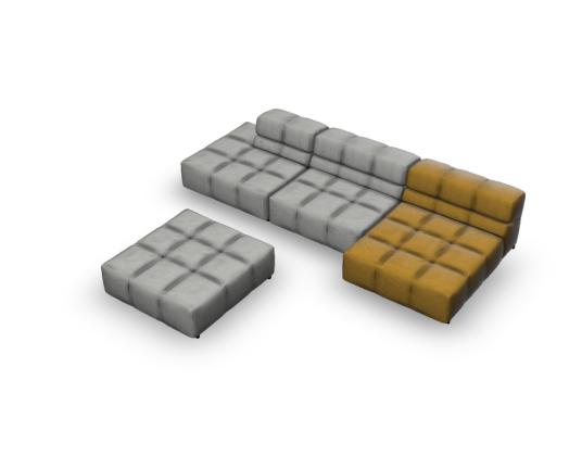 L型沙发现代
