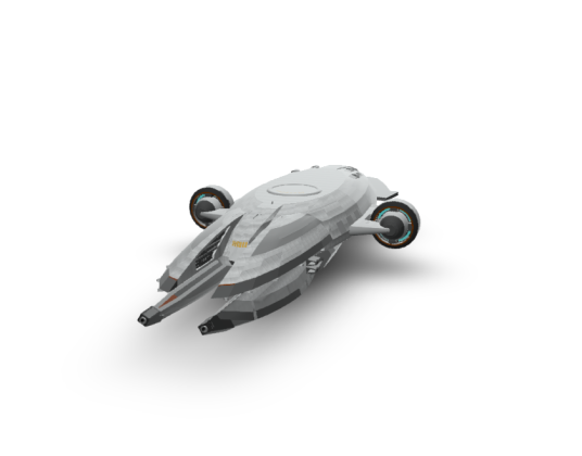 太空大型飞船终结版