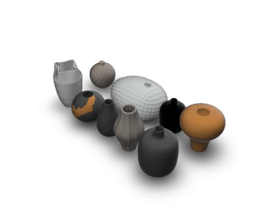 陶瓷罐组合
