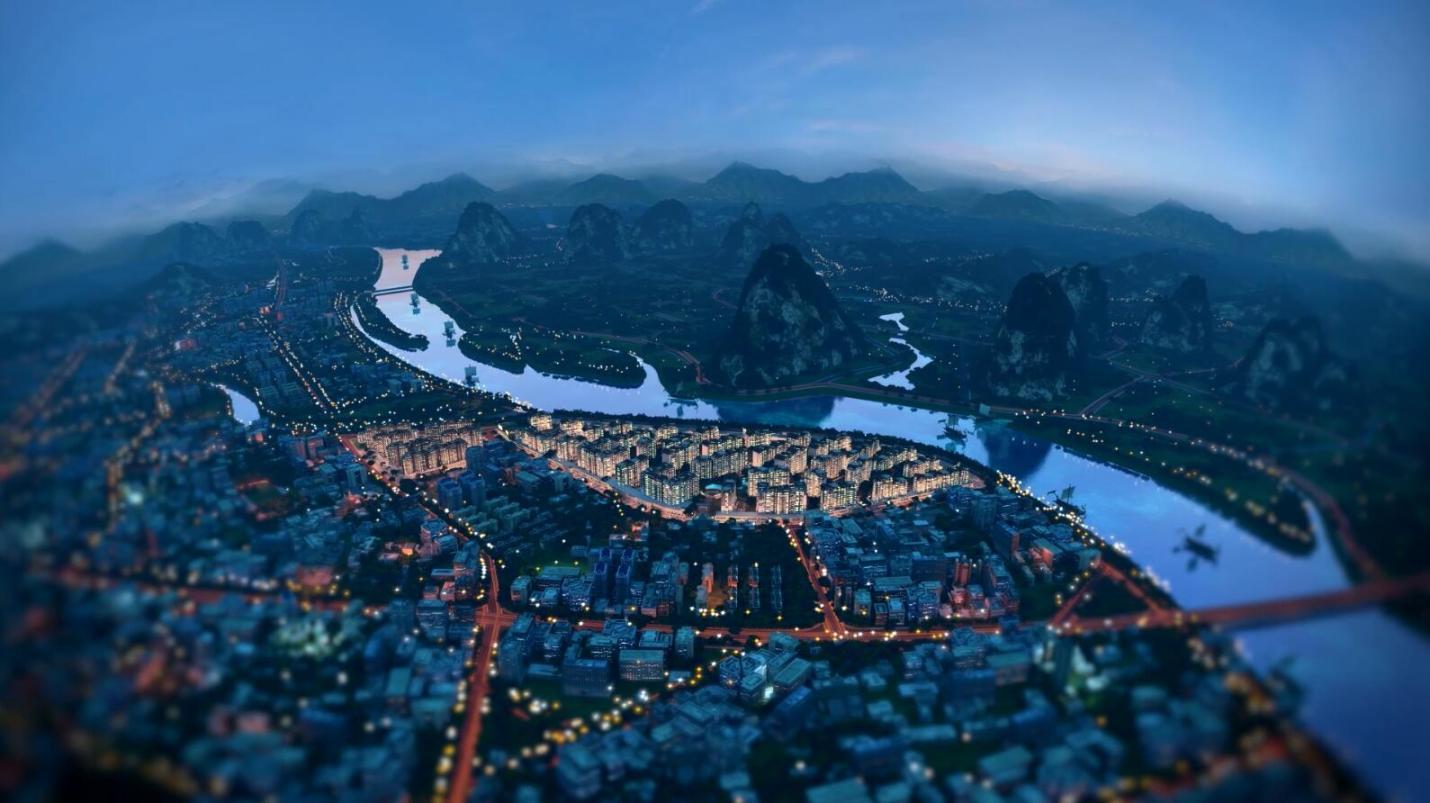 世界豪宅的中国封面《大艺术家·风景》桂林漓江郡府江景别墅
