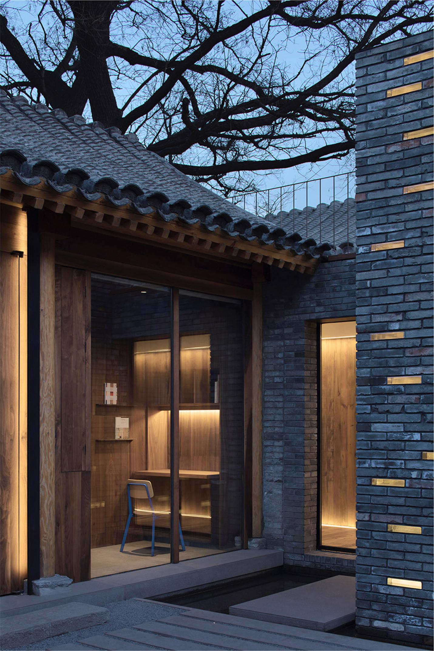 青山周平-北京白塔寺胡同大杂院改造