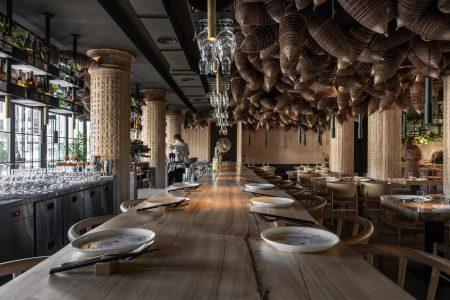 乌克兰亚洲香料主题餐厅