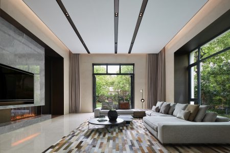 壹舍新作 | 1500m²上海西郊明苑别墅 与自然同居展顶级大宅气度
