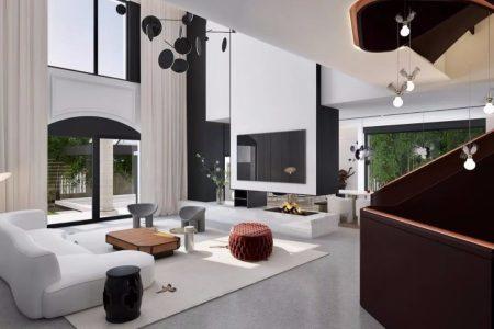 孟也设计 | 嘉兴金都夏宫900m²别墅设计方案